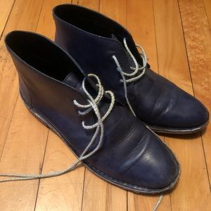 Cole haan navy shoes
